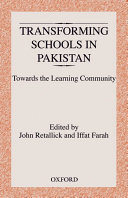 Transforming Schools in Pakistan