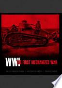 Ak273 Wwi The First Mechanized War