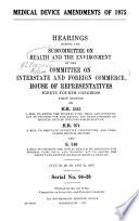Medical Device Amendments of 1975