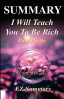 Summary   I Will Teach You to Be Rich