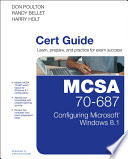 MCSA 70 687 Cert Guide Book
