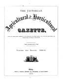 The Victorian Agricultural   Horticultural Gazette