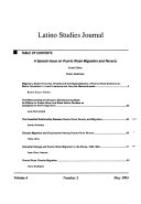 Latino Studies Journal
