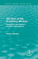The End of the Economic Miracle