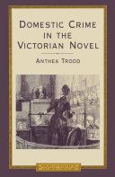 Domestic Crime In The Victorian Novel Pdf