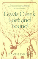 Pdf Lewis Creek Lost and Found
