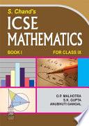 S. Chand's ICSE Mathematics Class-IX