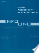 Needs Assessment By Focus Groups Book PDF