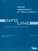 Needs Assessment By Focus Groups