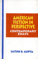 American Fiction In PerspectiveContemporary Essays