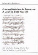 Creating Digital Audio Resources