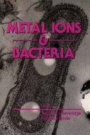 Metal Ions and Bacteria Book