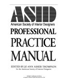 ASID  American Society of Interior Designers Professional Practice Manual