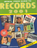 The Official Price Guide to Records  2001