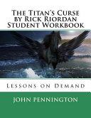 The Titans Curse by Rick Riordan Student Workbook