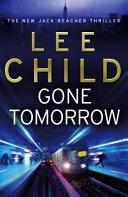 Gone Tomorrow Book