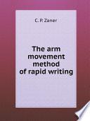 The arm movement method of rapid writing