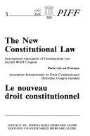 Nouveau Droit Constitutionnel