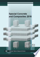Special Concrete and Composites 2016