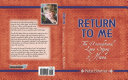 Return to Me: The Unconditional Love Story of Hosea