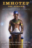 Pdf Imhotep the African
