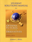 Cover of Student Solutions Manual for Options, Futures, and Other Derivatives