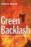 Green Backlash