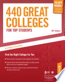 440 Great Colleges For Top Students Book PDF