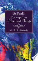 St Paul S Conceptions Of The Last Things