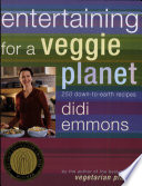 Entertaining for a Veggie Planet Book