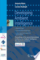 Developing Ambient Intelligence Book
