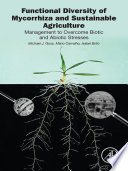 Functional Diversity of Mycorrhiza and Sustainable Agriculture