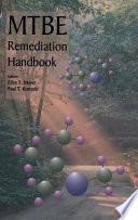 MTBE Remediation Handbook Book