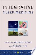 Integrative Sleep Medicine Book