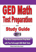GED Math Test Preparation and Study Guide