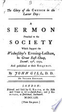 The Glory of the Church in the latter day  a sermon on Ps  lxxxvii  3 preached     Decemb  27th  1752