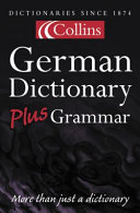 German Dictionary Plus Grammar