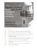 The Canadian Journal of Irish Studies Book