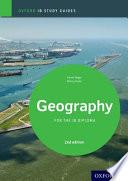 IB Geography Study Guide Oxford IB Diploma Programme