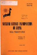 Nuclear Science Information of Japan  Oral Presentation