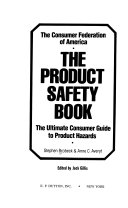 The Product Safety Book Book