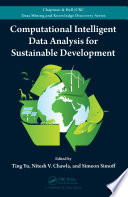 Computational Intelligent Data Analysis For Sustainable Development Book PDF