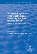 Sociative Logics and Their Applications