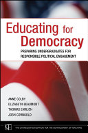 Educating for Democracy