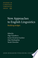 New Approaches To English Linguistics