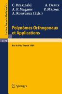 Pdf Polynomes Orthogonaux et Applications Telecharger