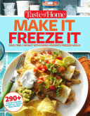 Taste of Home Make It Freeze It Book