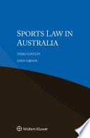 Sports Law in Australia