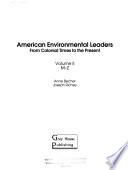 American Environmental Leaders: M-Z