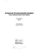 American Environmental Leaders  M Z